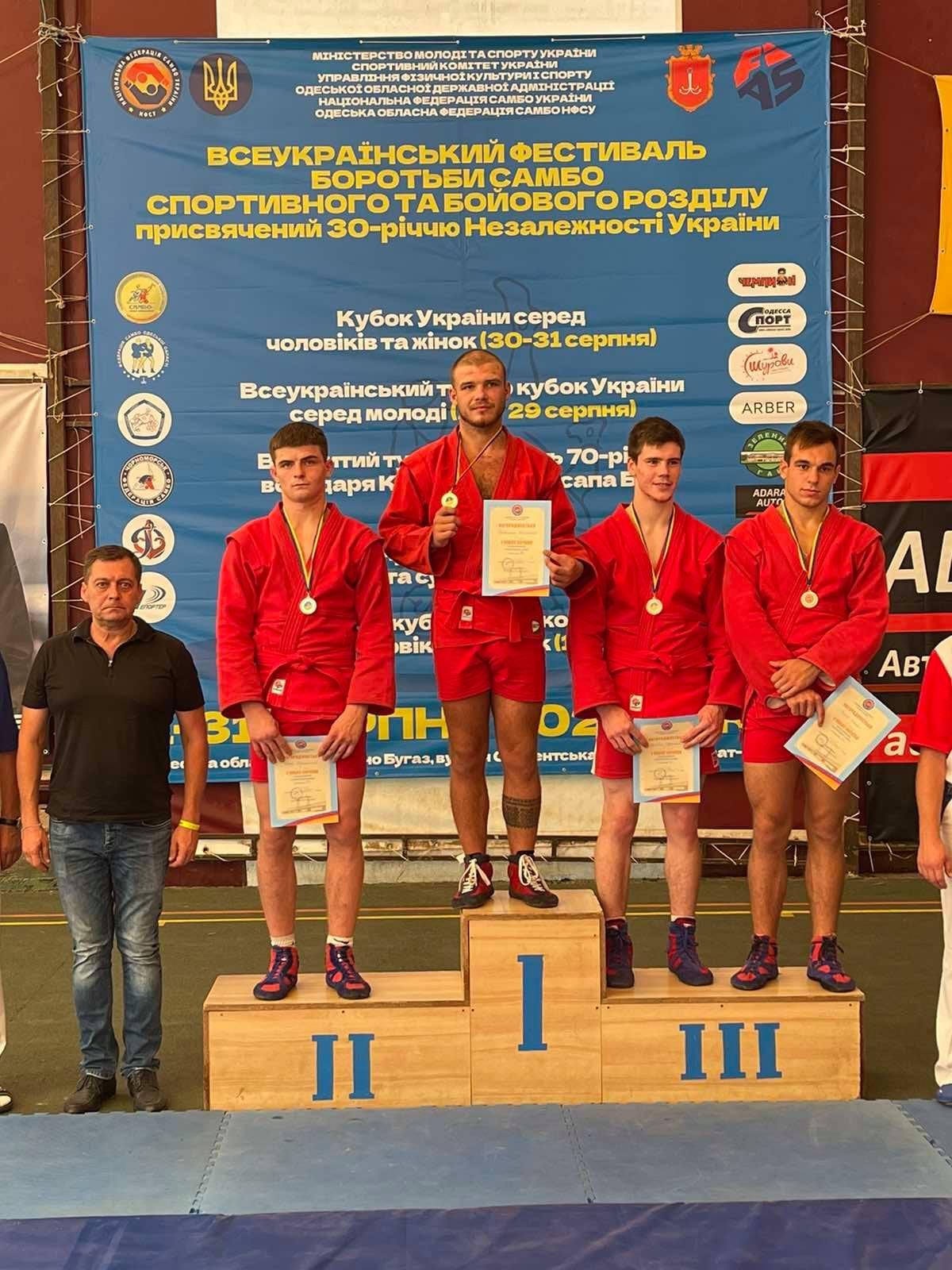 Чемпіонат України з самбо серед юніорів та старших юнаків