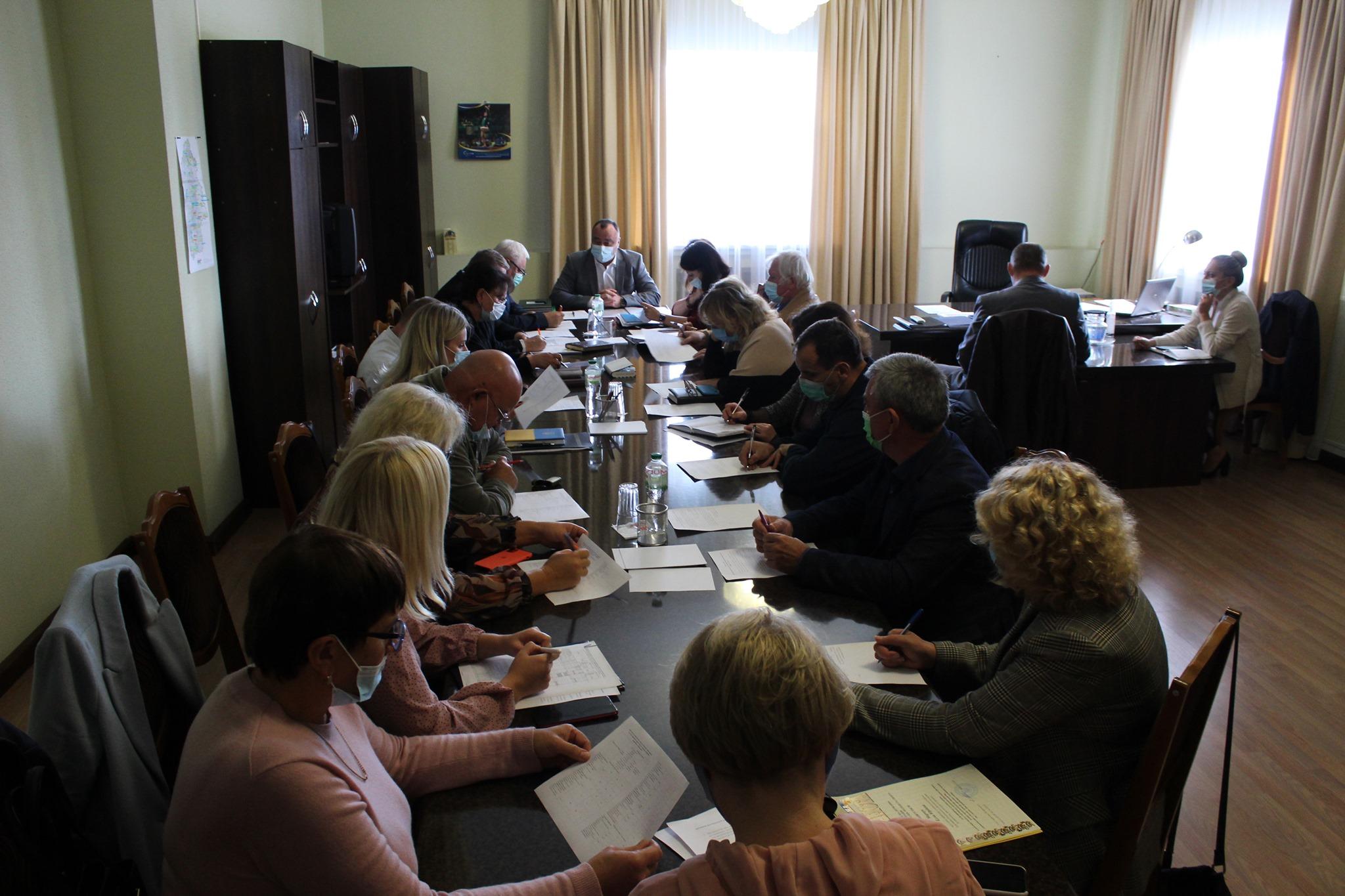 Проведено засідання регіональної ради професійної освіти (стейкхолдерів)