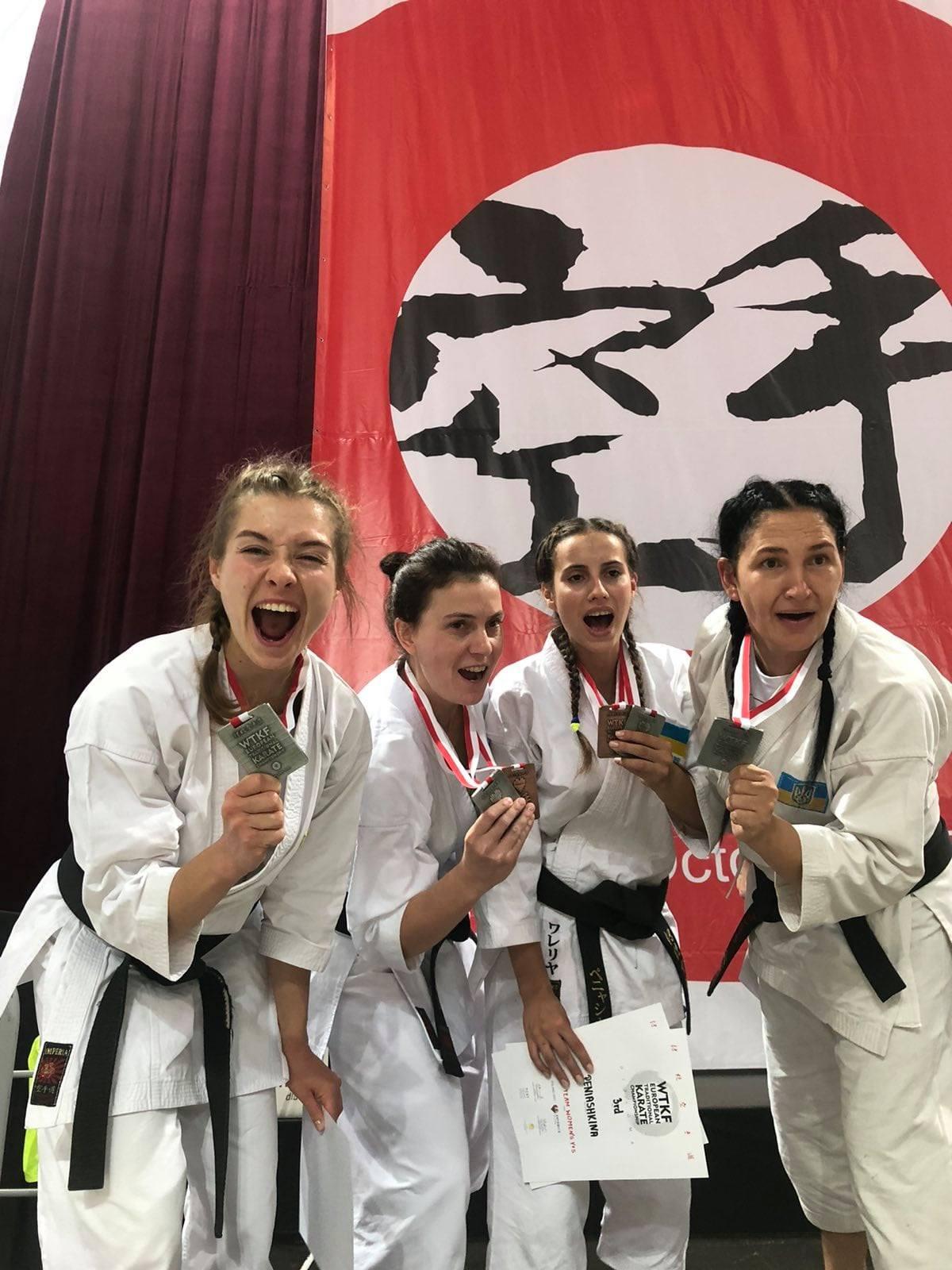 Відбувся чемпіонат Європи з традиційного карате