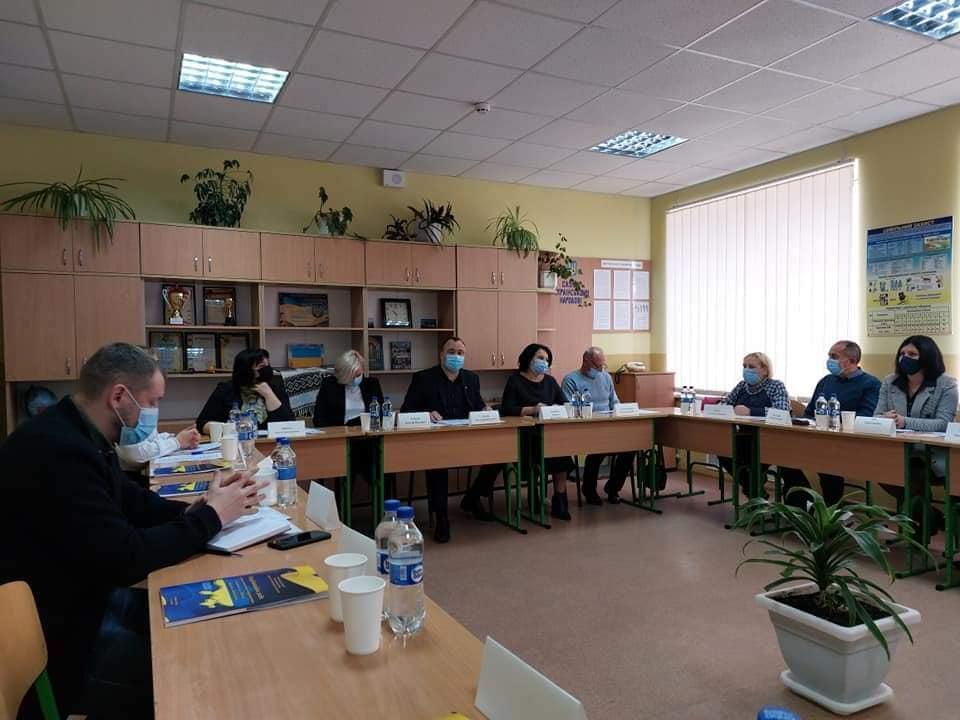 Виїзне засідання координаційної ради з питань національно-патріотичного виховання