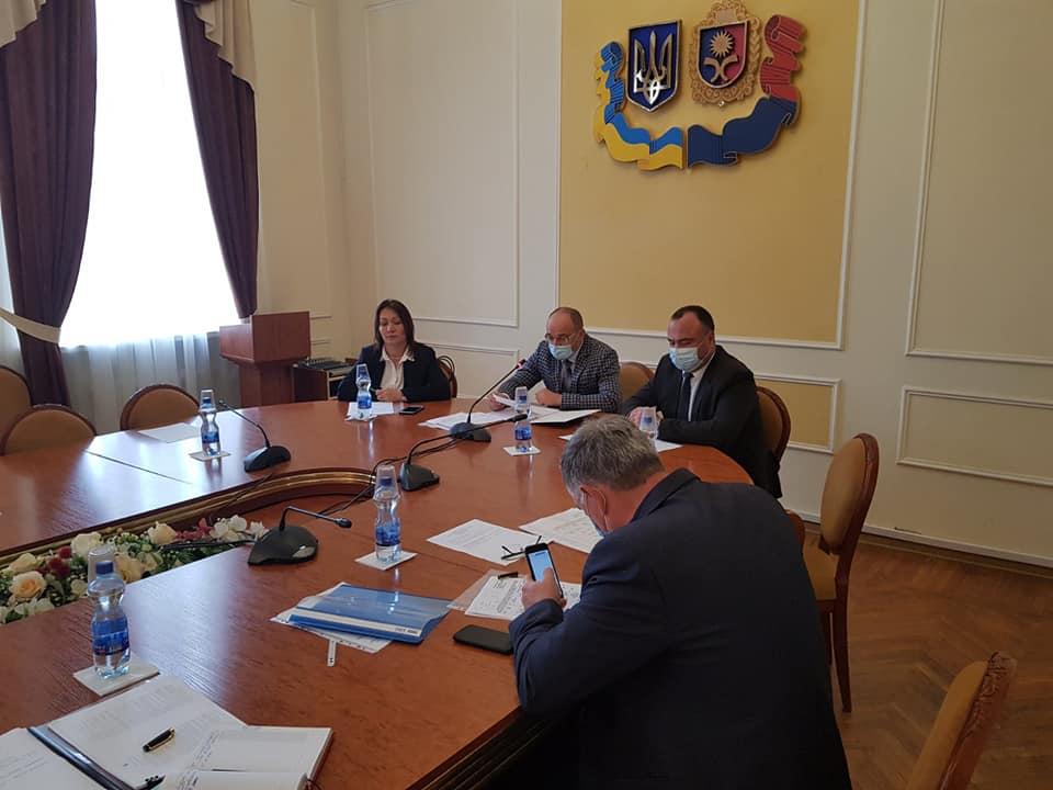 Відбулося засідання Ради ректорів закладів вищої освіти області
