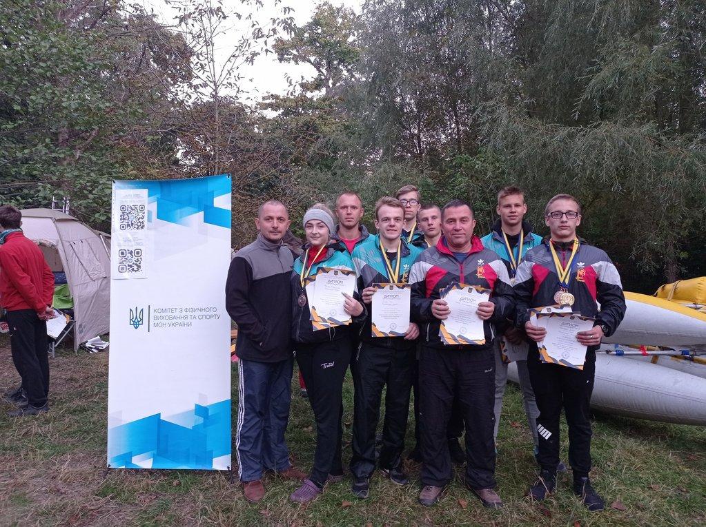 Вихованці ХОЦТКУМ стали бронзовими призерами на Чемпіонаті України з водного туризму